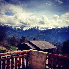 Beautiful Ovronnaz  @Ovronnaz, Switzerland #ovronnaz Places In Switzerland, Places Ive Been, Mount Everest, Beautiful Places, Mountains, Building, Travel, Viajes, Buildings