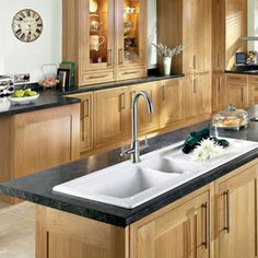 Traditional Style Kitchens On Pinterest Solid Oak