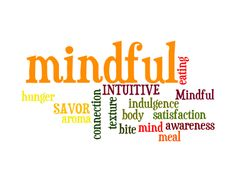 mindfulness quotes | So - what is mindful eating: