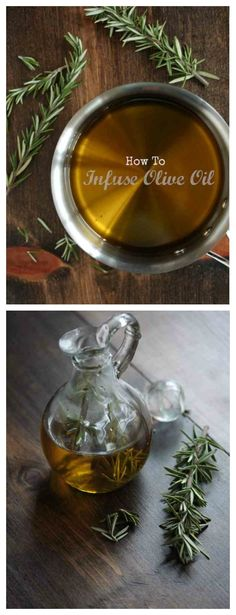 How-To Tuesday : How to Infuse Olive Oil - Makes a great and easy gift for the foodie friends in your life!
