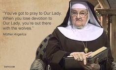 #Thursdaythought #MotherAngelica #BlessedMother #Catholic