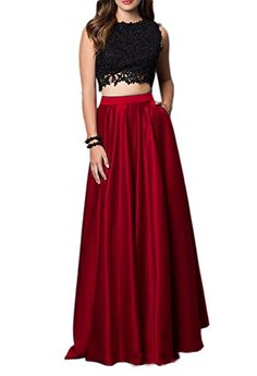 Ikerenwedding Women's Two Pieces Lace Satin Sleeveless Pr... https://www.amazon.com/dp/B01N8VXF2F/ref=cm_sw_r_pi_dp_x_tbqlybM0Q4RTB