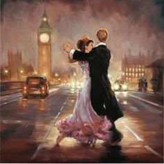 """Romance in The City I"" by Mark Spain"