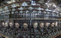 Doll factory, Spain