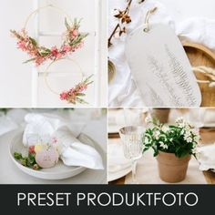 Produktbild Preset Produktfoto Business Portrait, Lightroom, Amazing Photography, Table Decorations, Wedding, Home Decor, Small Groups, Fresh Flowers, Good Photos