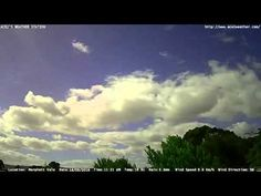 Adelaide weather time Lapse  Fri 18 03 2016