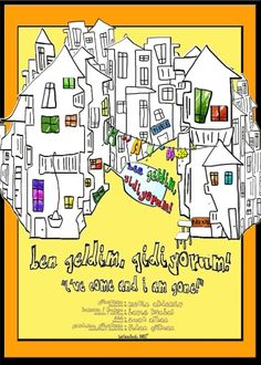 Poster for the film Ben Geldim Gidiyorum. I've come and I'm gone. A tribute to the street vendors of Istanbul.