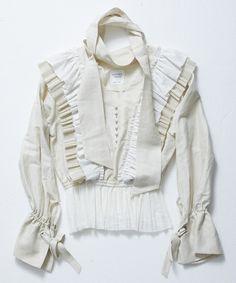 UNITED TOKYO(ユナイテッドトウキョウ)の「カールマイヤープリーツフリルブラウス(シャツ/ブラウス)」 ホワイト