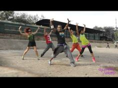 """Los Matatanes """"La Cura"""" - Zumba routine. Love the way this is filmed! What a fun crew. :)"""