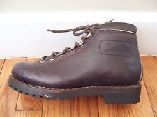 Fabiano Leather Hiking Boots Steel Toe Brown Size 5 L approx. Women's Size 6.5-7