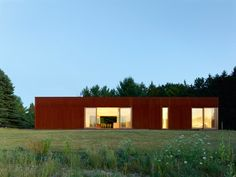 Superkül extends Canadian farmhouse with rusty Corten-clad block