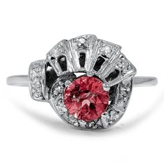 14K White Gold The Candice Ring from Brilliant Earth