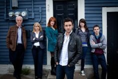 """""""Republic of Doyle"""". Watch for additional scenery, like Russell Crowe and Kevin Durand, to the beauty of St. Newfoundland Canada, Newfoundland And Labrador, Allan Hawco, Kevin Durand, Rookie Blue, Atlantic Canada, Russell Crowe, Great Tv Shows, My Heritage"""