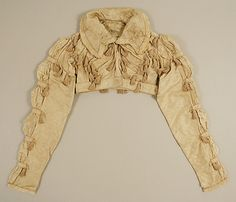 Silk spencer jacket 1804–14, probably British - in the Metropolitan Museum of Art costume collections.