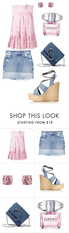 """""""Untitled #668"""" by angelina-vanessa ❤ liked on Polyvore featuring Alexander McQueen, MANGO, Humble Chic, Yves Saint Laurent, 3.1 Phillip Lim and Versace"""