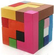 Wooden Blocks Tetris Worlds Puzzle