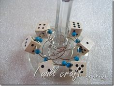 I will craft.......: $3 Thursday – Wine glass charms