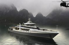 Fassmer's OPV80 explorer superyacht concept