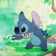 Stitch is an angel from another planet