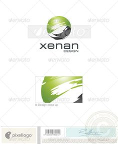 Buy Print & Design Logo - 1838 by pixellogo on GraphicRiver. An excellent logo template highly suitable for design, print and photography businesses. Ui Design, Print Design, Management Logo, Industry Logo, Business Inspiration, Nature Prints, Buy Prints, Creative Logo, Print Logo
