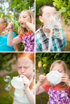 It's Written on the Wall: {Summer Survival} Amazing Bubble Party-Get Creative!