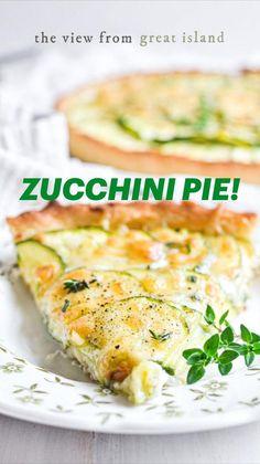 Zuchinni Recipes, Vegetable Recipes, Vegetarian Recipes, Cooking Recipes, Healthy Recipes, Brunch Recipes, Summer Recipes, Dinner Recipes, Dinner Dishes