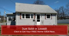 Another Lowell Home Just Sold!  Thinking of making a move?  Click below to get your home's NEW Value