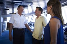 Star Pride's Captain and officers welcome you on Bridge while the yacht is at sea. http://www.windstarcruises.com