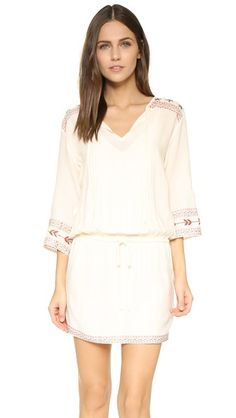 cupcakes and cashmere Sansa Embroidered Dress | SHOPBOP