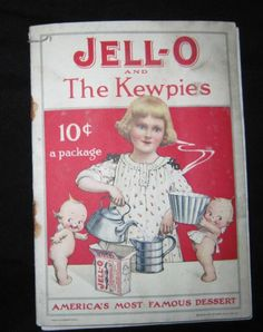 """Gelatin based desserts became fashionable in the Victorian era and were known as """"jelly moulds"""". They were hard to make, however, and without refrigeration, hard to keep. In 1902, the Gennesee Pure Foods Co, which had purchased a formula for a powdered based gelatin in strawberry, orange, and other flavors, started advertising their product in the Ladies Home Journal as """"America's Most Famous Dessert"""". They also sent a large number of salesmen"""