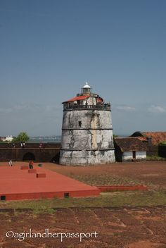 Sleeping in a Fort? Fort Aguada in Goa, India