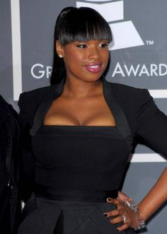 African American Ponytails Haircut  with Front Bangs