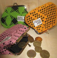 Purses by Risako. Fashion Backpack, Backpacks, Purses, Knitting, Crochet, Pattern, Bags, Coin Purses, Totes