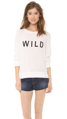 Just the top.  Wildfox Wild Long Sleeve Top - Vintage Lace