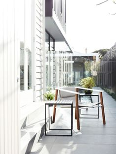 www.canny.com.au ph: 8532 4444 Kew Renovation by Canny Design   via HomeDSGN  #canny #renovation #outdoors