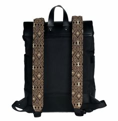 Discover Mexican Culture Through our unique Backpacks Handcraft item Materials: Genuine Long Lasting Durable Leather, Handmade Natural Leather, Metal Buckles, loom made in Chiapas. *Includes a repair kit for the leather Unique Backpacks, Metal Buckles, Natural Leather, Ethical Fashion, Loom, Messenger Bag, Hand Weaving, Satchel, Mexican