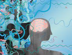 Illustration mindhelp Macht der Gedanken