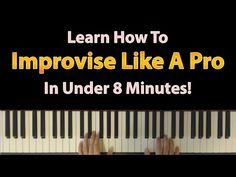 In this piano lesson I'm going to a very simple but effective jazz chord voicing that will make it impossible for you to sound bad! Piano Music, Music Songs, Boogie Piano, Music Theory Lessons, Piano Lessons For Beginners, Lyrics And Chords, Piano Tutorial, Piano Teaching, Music Education