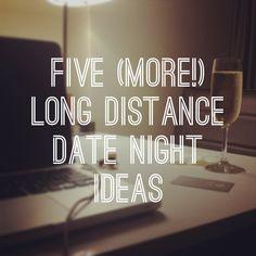 Five (More!) Long Distance Date Night Ideas - Couple Blog