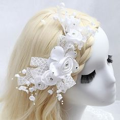 Handmade Wedding/Special Occasion Flower/Hair Comb – USD $ 16.99