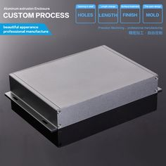 18.60$  Watch now - http://alil80.shopchina.info/1/go.php?t=32795495380 - 229-35-150 mm (W-H-L) electronic enclosures aluminum amplifier chassis extruded aluminum enclosure  #aliexpress