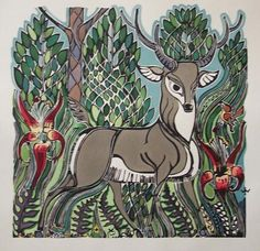 Deer - Walter Anderson