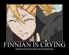 Black Butler ~~ Awwwe! Finnian is crying by dark-Reality-04.deviantart.com on @deviantART *sniffles