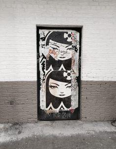Drzwi – Jestem w lesie Street Art, Cover