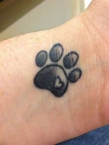1000+ ideas about Paw Print Tattoos on Pinterest | Dog ...