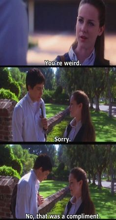 Donnie Darko - I feel like this is how I should respond to people sometimes: I'm sorry.