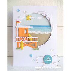 Surfboard, Frantic Stamper, Marianne Design, Lifeguard, Waves, Kids Rugs, Ocean, Holiday Decor, Frame