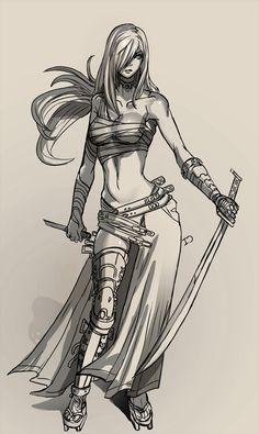 Daily: Line Ronin by *ionen on deviantART