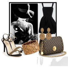 Accessorize The Little Black Dress, created by jacque-reid on Polyvore