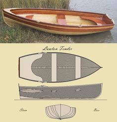 Custom Made 'The Lawton Tender' Row Boat Kit
